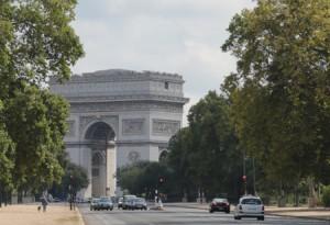 Arc de Triumphe from ave. Foch